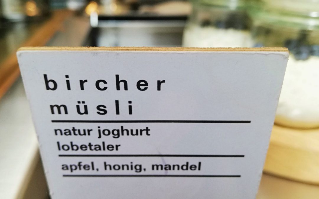 Chia Bircher Muesli Recipe